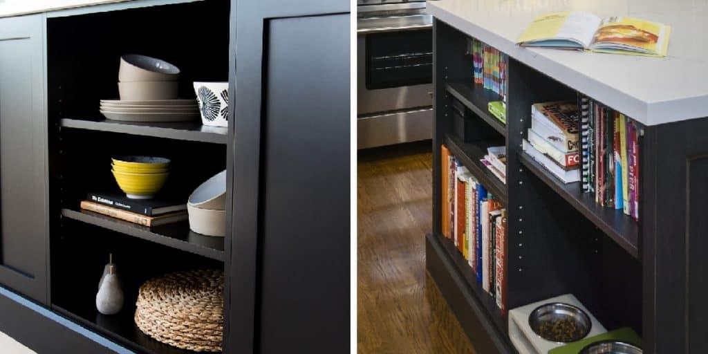 Merit Kitchens Design Trends Open Shelves Langley Surrey