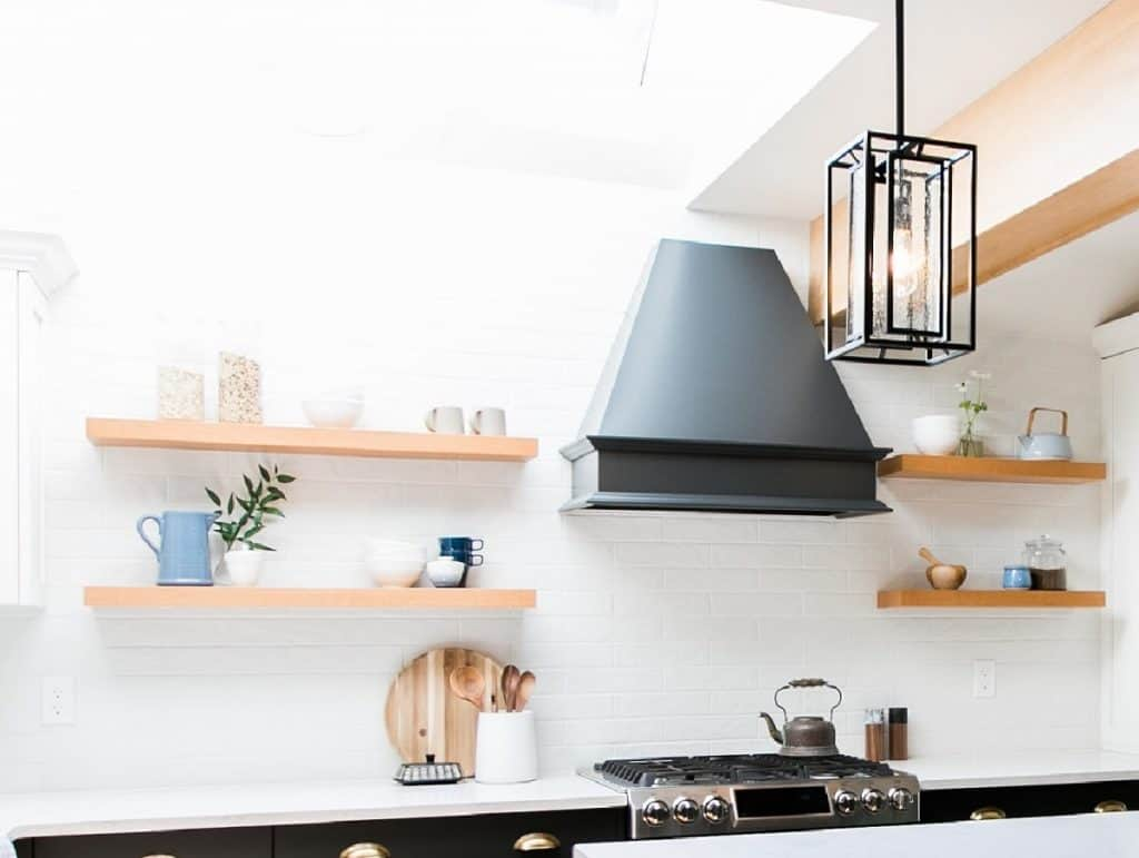 New Kitchen Cabinets Design Trend Open Shelves Calgary